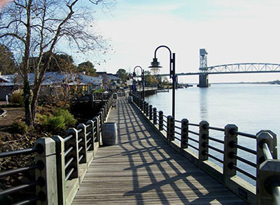 On the River Front in Historic Downtown Wilmington, NC